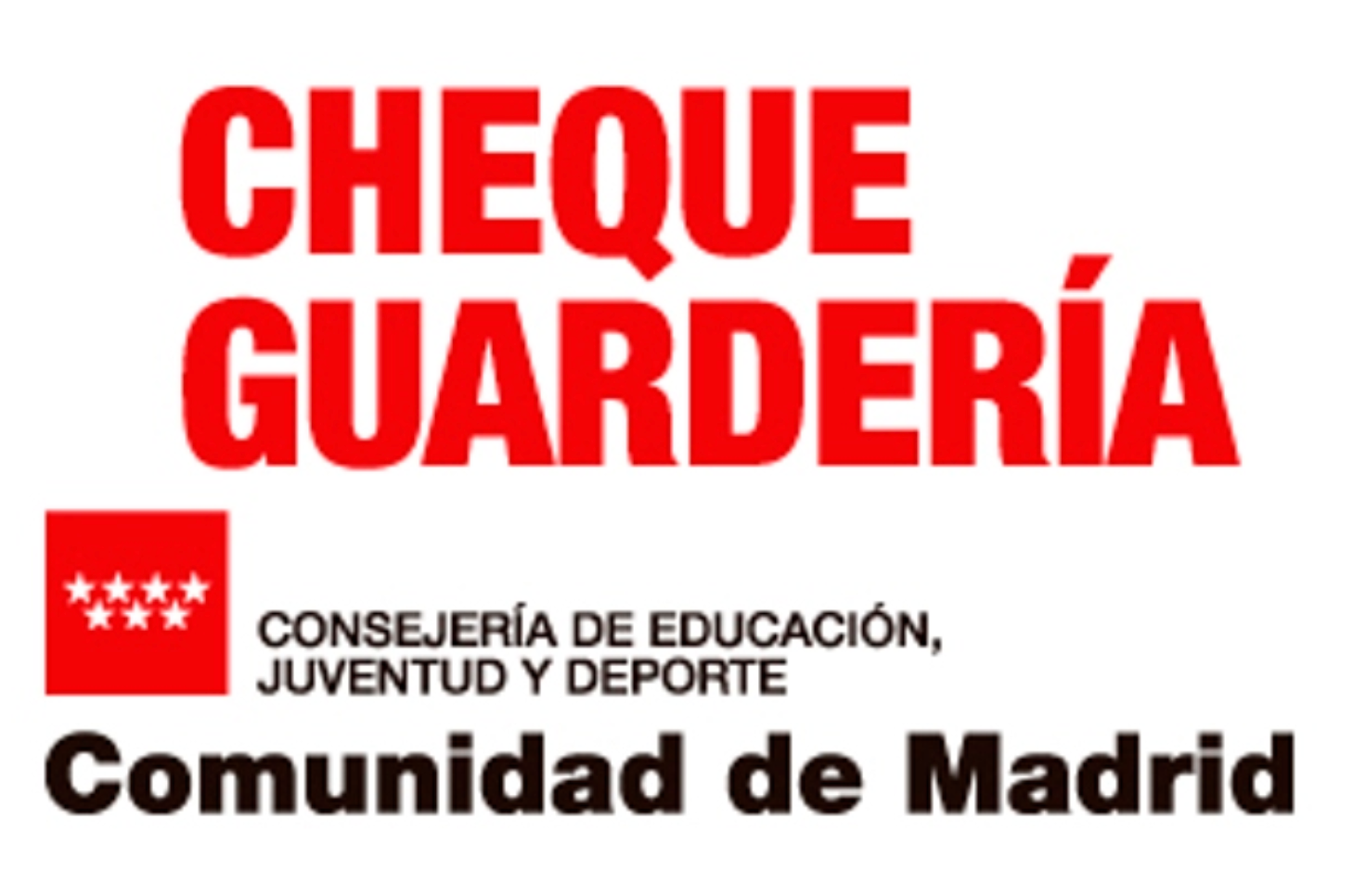 CHEQUE GUARDERÍA 2020/2021