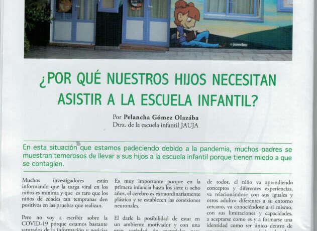 POR QUÉ ES IMPORTANTE LA ESCUELA INFANTIL?