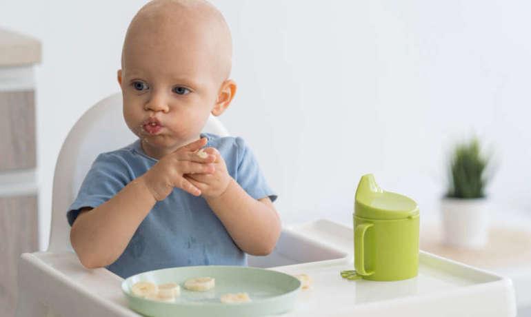 Cómo debe ser la alimentación en los niños de 0 a 2 años